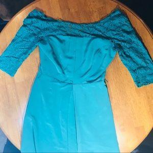 Turquoise Jessica Simpson dress size 4